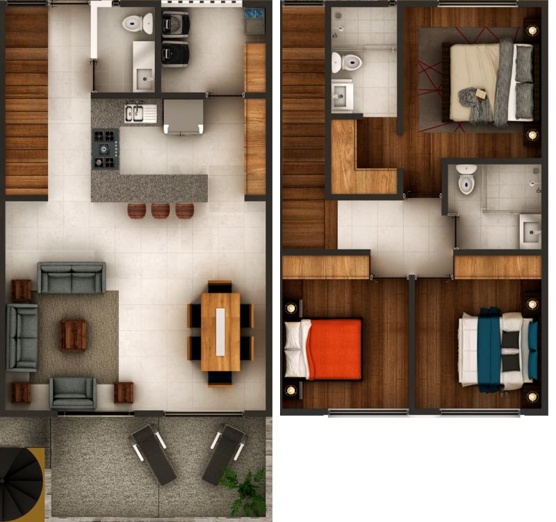 Espacio Chapalita - Departamento - Casa tipo Viena