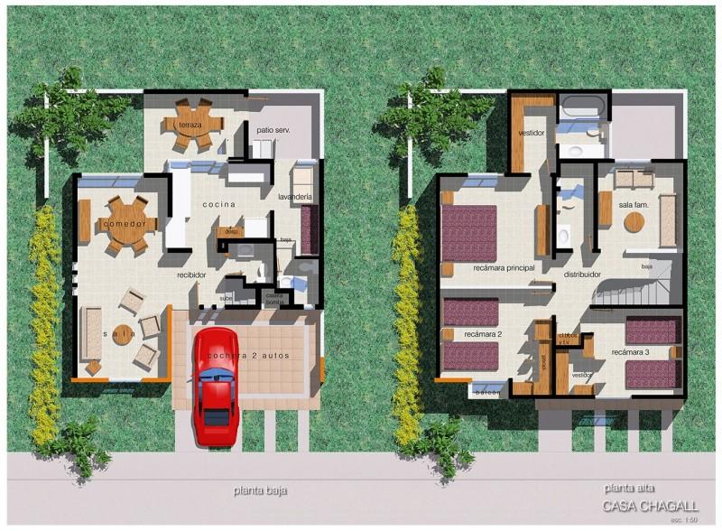 Residencial Chapalita - Departamento - Casa tipo chagall