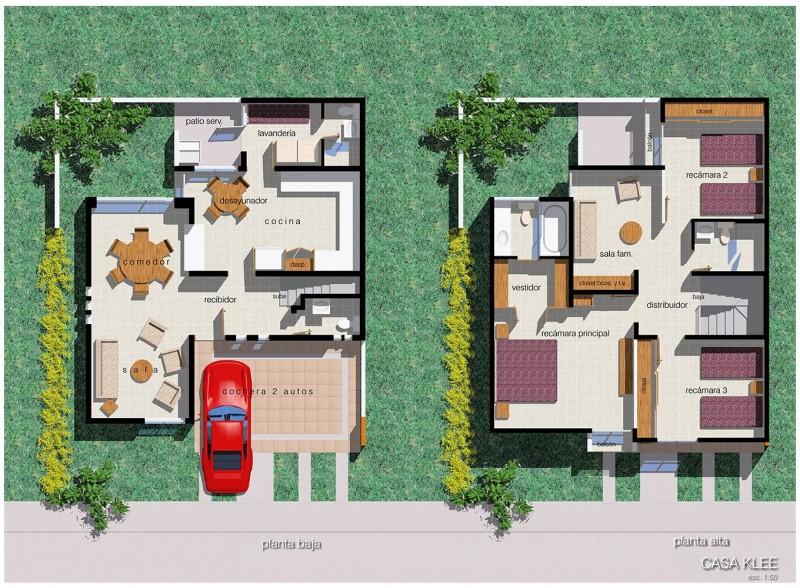 Residencial Chapalita - Departamento - Casa tipo klee