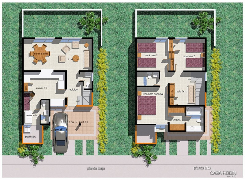 Residencial Chapalita - Departamento - Casa tipo rodin