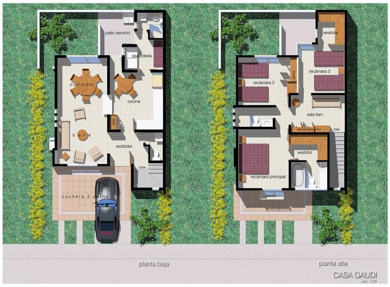 Residencial Chapalita - Departamento - Casa tipo gaudi